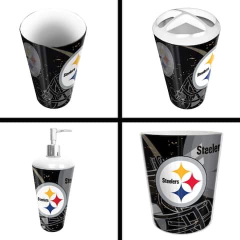 Steelers 4-piece Bath Set