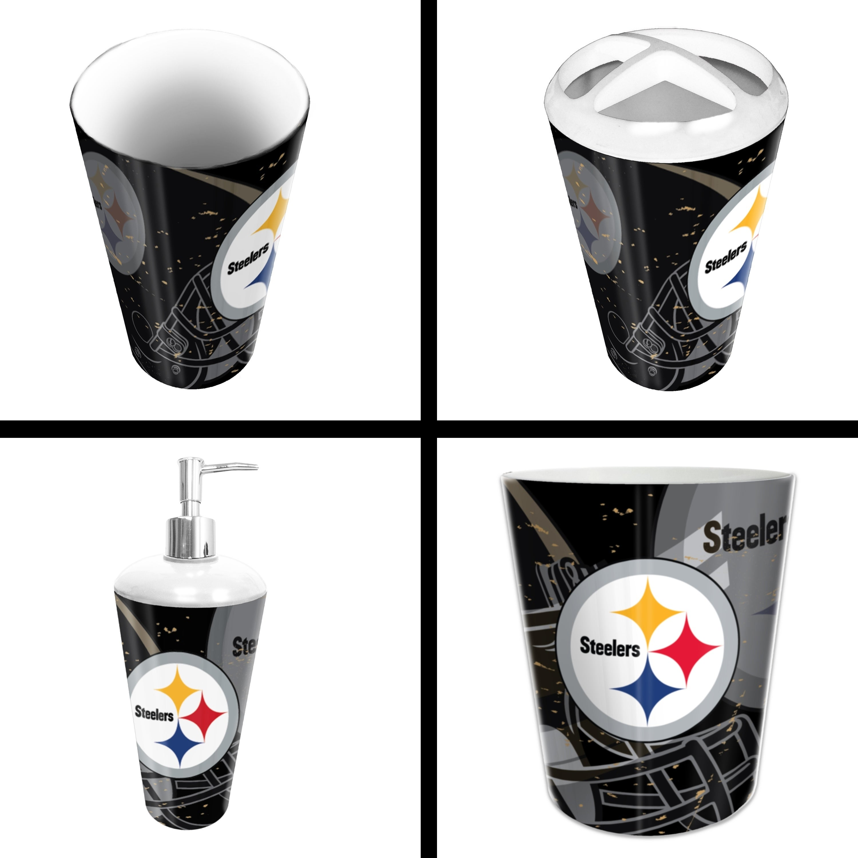 Steelers 4 Piece Bath Set
