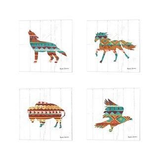 Farida Zaman 'Southwestern Vibes' Canvas Art (Set of 4)