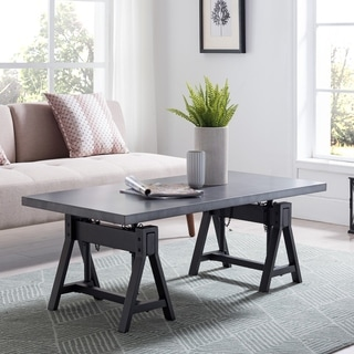 Carbon Loft Industrial Lift-Top Coffee Table