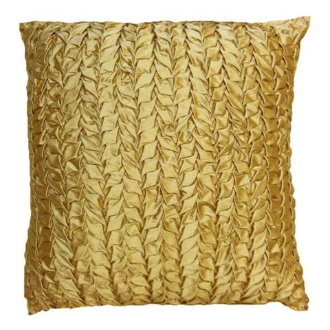 Jillian Silk Throw Pillow