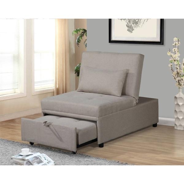 Copper Grove Urica Convertible Beige Chair