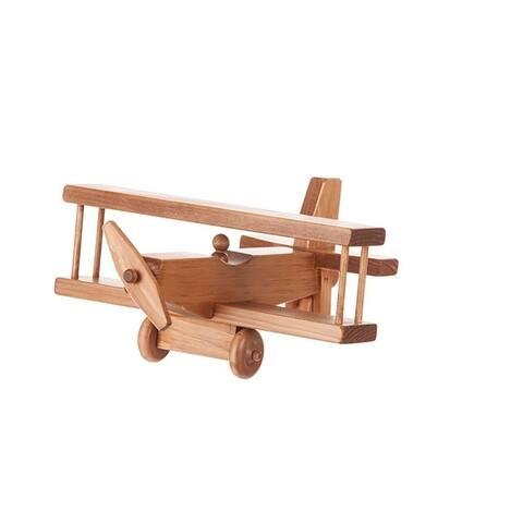 Child's Wooden Maple Airplane