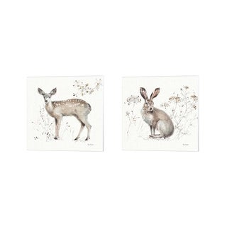 Lisa Audit 'A Woodland Walk B' Canvas Art (Set of 2)