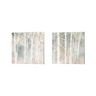 Lisa Audit 'A Woodland Walk A' Canvas Art (Set of 2)