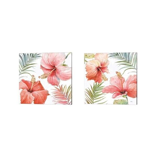 Lisa Audit 'Tropical Blush' Canvas Art (Set of 2)