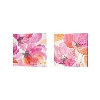 Albena Hristova 'Joyous Crop' Canvas Art (Set of 2)