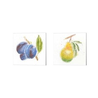 Emily Adams 'Garden Delight C' Canvas Art (Set of 2)