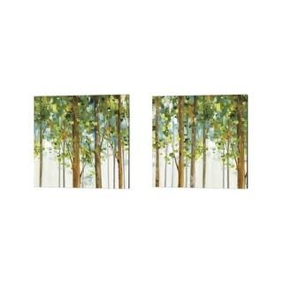 Lisa Audit 'Forest Study' Canvas Art (Set of 2)