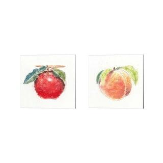 Emily Adams 'Garden Delight B' Canvas Art (Set of 2)
