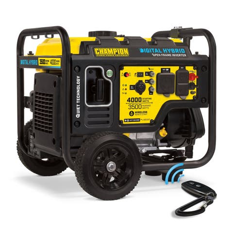 Champion 4000-Watt DH Series Open Frame Inverter Generator with Wireless Remote