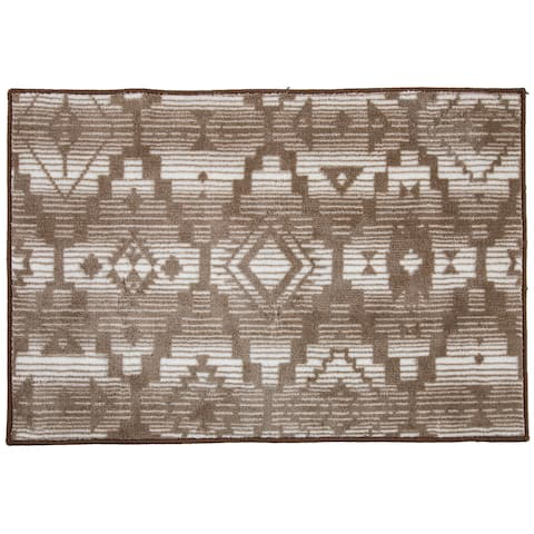 HiEnd Accents Chalet Printed Rug, 24x36 - 24 x 36
