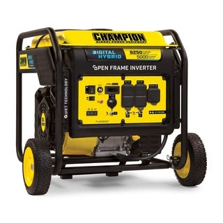 Champion 6250-Watt DH Series Open Frame Inverter Generator with Quiet Technology