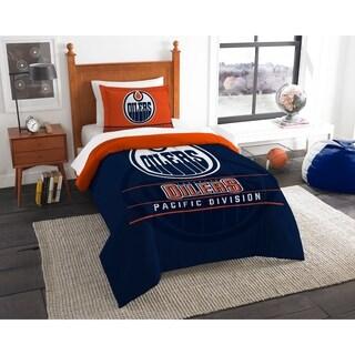 Oilers Twin Comforter Set