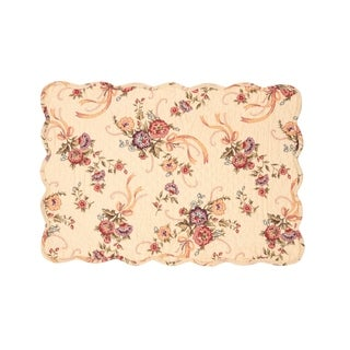Alisha Cotton Quilted Placemat Set of 6