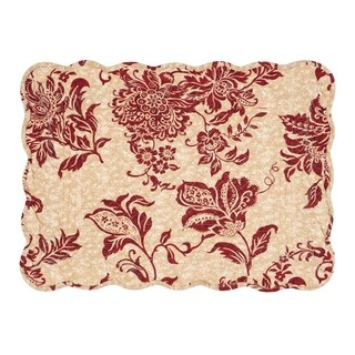 Marissa Cotton Quilted Placemat Set of 6