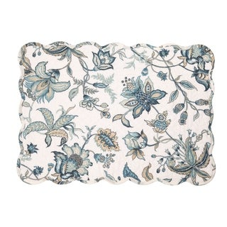 Frida Cotton Quilted Placemat Set of 6 - N/A