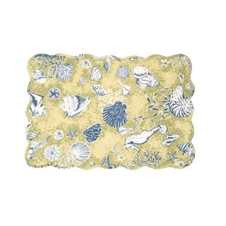 Dorian Cotton Quilted Placemat Set of 6