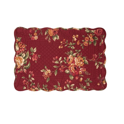 Lilith Cotton Quilted Placemat Set of 6