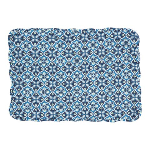 Kenley Cotton Quilted Placemat Set of 6