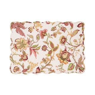 Kiera Cotton Quilted Placemat Set of 6 - N/A