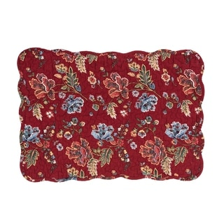 Lizbeth Cotton Quilted Placemat Set of 6