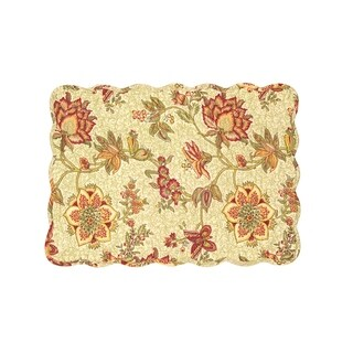 Marlowe Cotton Quilted Placemat Set of 6 - N/A