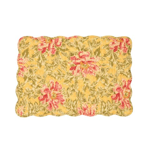 Faye Cotton Quilted Placemat Set of 6
