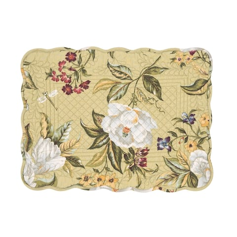 Kassandra Cotton Quilted Placemat Set of 6