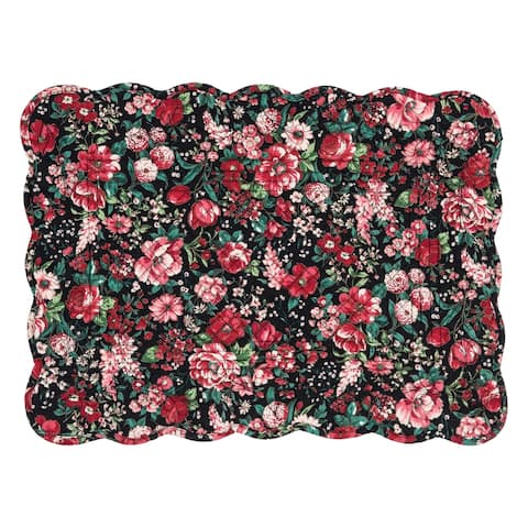 Colette Cotton Quilted Placemat Set of 6