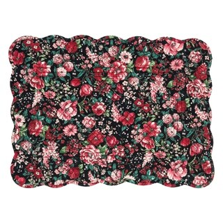 Colette Cotton Quilted Placemat Set of 6 - N/A