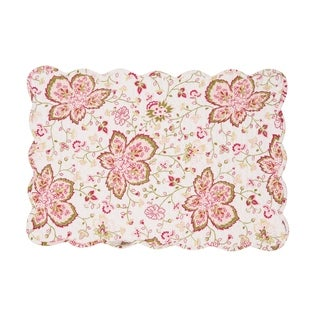 Lexie Cotton Quilted Placemat Set of 6