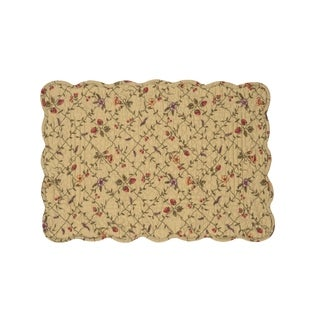 Annamae Cotton Quilted Placemat Set of 6 - N/A
