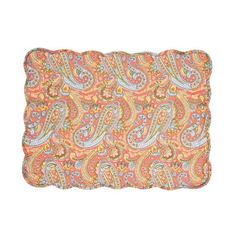 Miley Cotton Quilted Placemat Set of 6