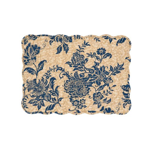 Clarissa Cotton Quilted Placemat Set of 6
