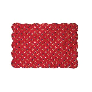 Evalynn Cotton Quilted Placemat Set of 6 - N/A