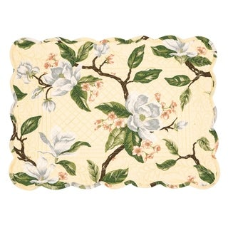 Annika Cotton Quilted Placemat Set of 6 - N/A
