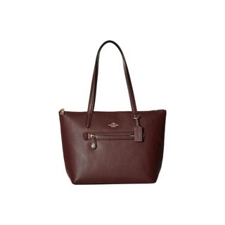 Link to Coach Pebbled Leather Taylor Tote Oxblood Similar Items in Shop By Style