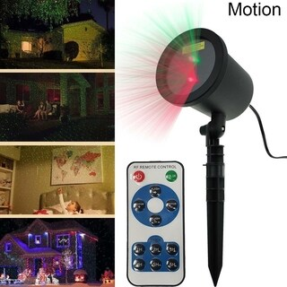 Christmas Waterproof Outdoor Landscape Garden Star Laser Projector Shower Lights