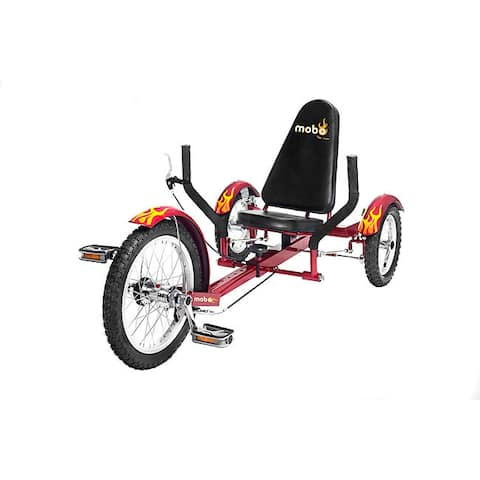 Mobo Triton The Ultimate Youth Three Wheeled Red Cruiser