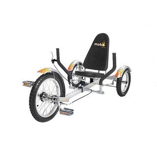 Mobo Triton The Ultimate Youth Three Wheeled Silver Cruiser