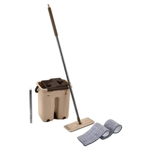 Self Cleaning Drying Wringing Mop Bucket System or Replacement Mop Heads