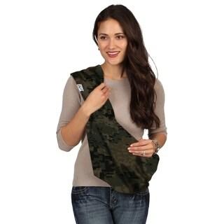HugaMonkey Camouflage Dark Green Military Baby Sling - Small