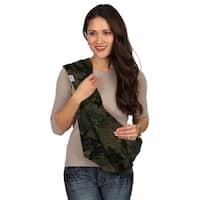 HugaMonkey Camouflage Dark Green Military Baby Sling - Extra Large