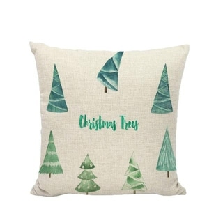 Merry Christmas Winter Cushion Cover Decorative 21296561-228