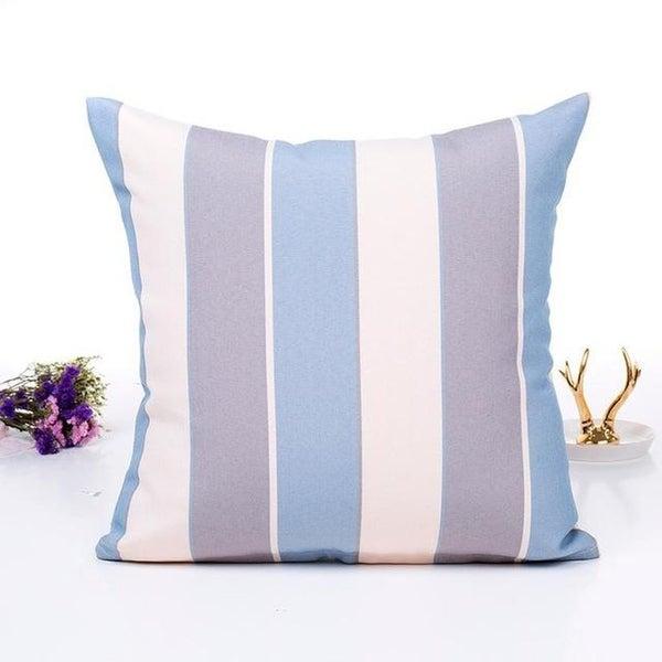 Flax Pillow Sofa Waist Throw Cushion Cover Home Décor 21296330-219