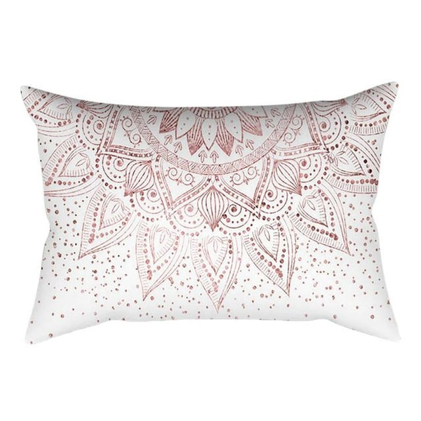 Rose Gold Pink Cushion Cover Square Pillowcase 21297789-379