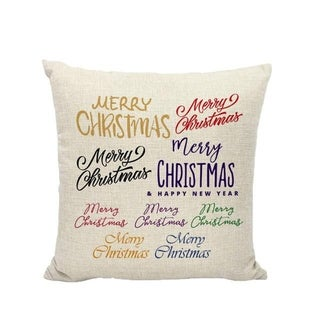 Merry Christmas Winter Cushion Cover Decorative 21296561-230