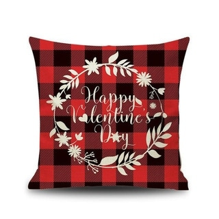 Merry Christmas Printed Throw Pillow Case 45x45cm 20991024-178