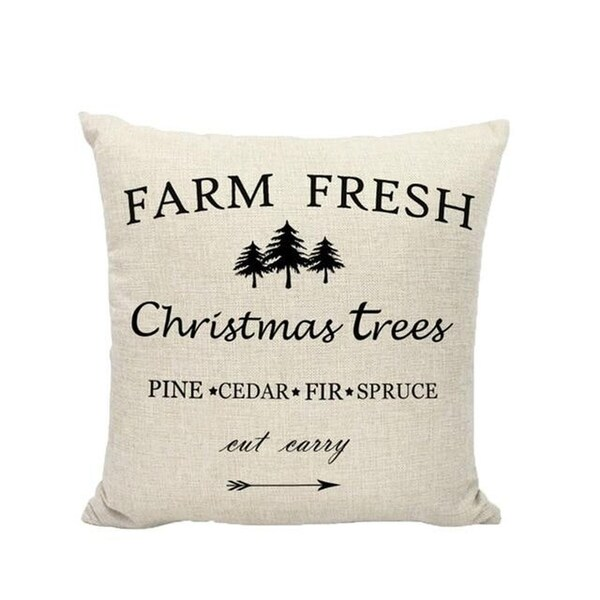 Merry Christmas Winter Cushion Cover Decorative 21296561-231
